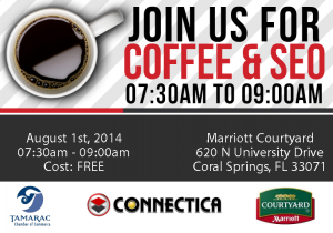 Coffee & SEO @ Courtyard Marriott  | Coral Springs | Florida | United States