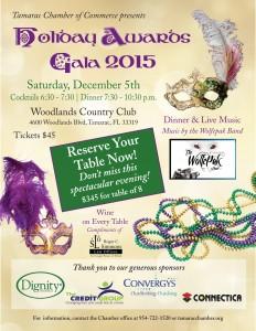 Holiday Awards Gala 2015 @ Woodlands Country Club   Tamarac   Florida   United States