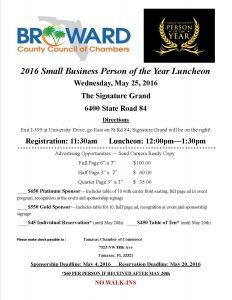 Small Business Luncheon @ Signature Grand   Davie   Florida   United States