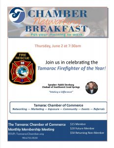 June Breakfast Meeting @ Colony West | Tamarac | Florida | United States