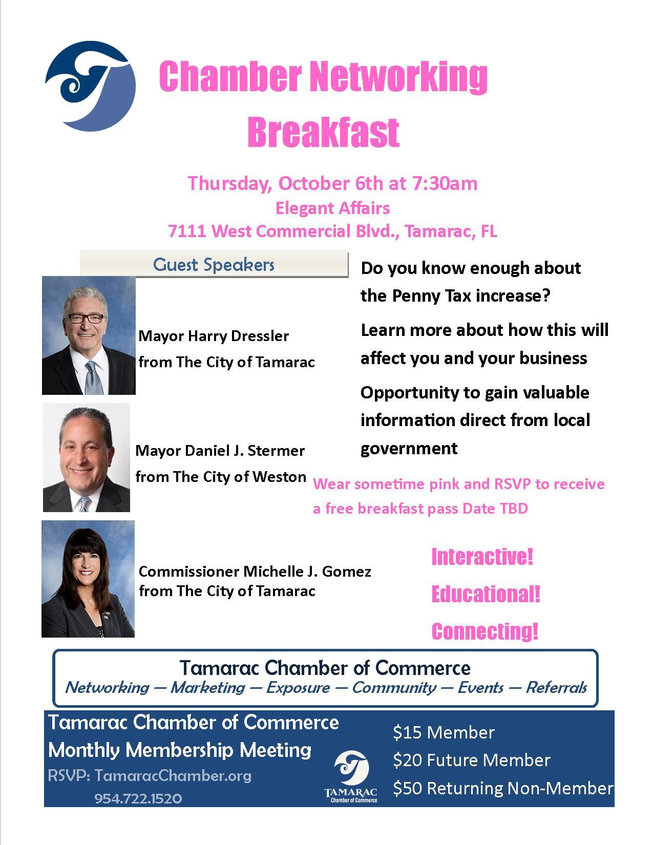 October Breakfast @ Elegant Affairs | Fort Lauderdale | Florida | United States