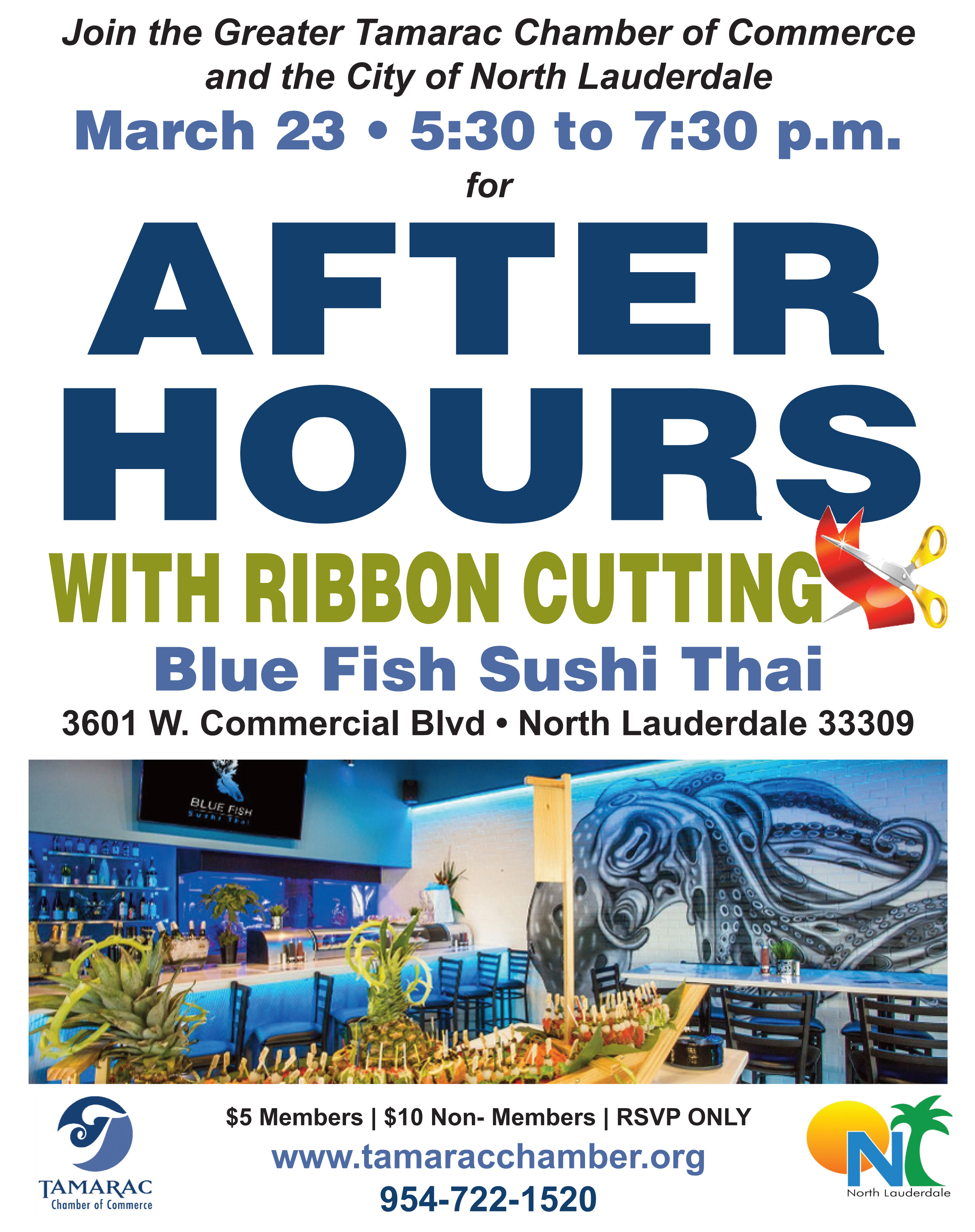 After Hours Ribbon Cutting Tamarac Chamber Of Commerce