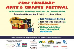 Tamarac Arts & Crafts Festival @ Tamarac Community Center   Tamarac   Florida   United States