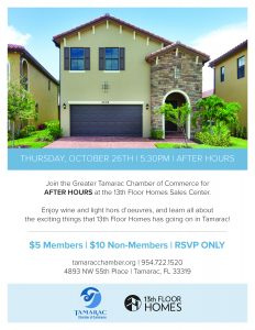 After Hours @ 13th Floor Homes Sales Center | Tamarac | Florida | United States