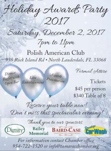 Holiday Party 2017 @ Polish American Club | North Lauderdale | Florida | United States