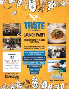 Taste of Tamarac Launch Party @ Pacifica Senior Living Forest Trace