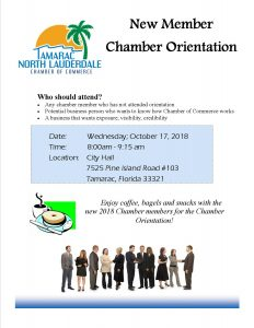 New Member Orientation @ Tamarac City Hall