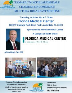 October Breakfast @ Florida Medical Center
