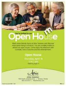 Open House at Atria Tamarac