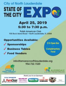 State of the City Expo - North Lauderdale @ Polish American Club
