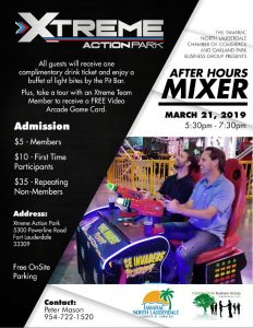 3-2-1 Networking Event @ Xtreme Action Park