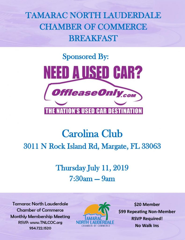 July Chamber Breakfast