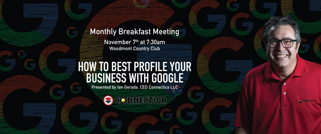 Chamber Breakfast - How to best profile your business with google